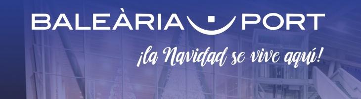 navidad en Balearia port