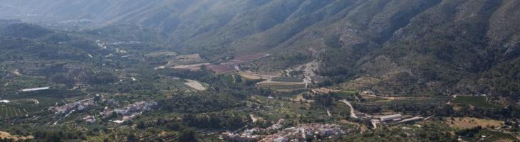 Visita guiada a la Vall de Gallinera