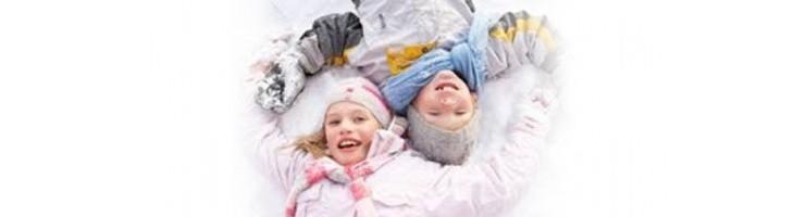 Disfruta de la nieve con tus pequeños