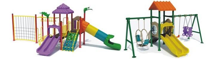 Jugar seguros en los parques infantiles