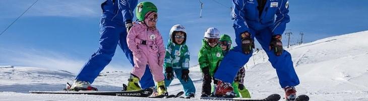 Nos vamos a esquiar con la familia