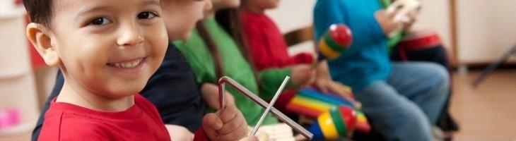 La música: una actividad fundamental para los niños