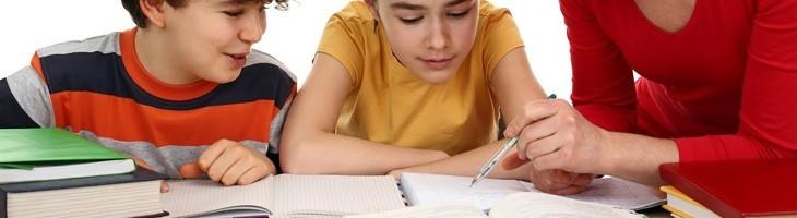 Los deberes del colegio, los niños?y los padres