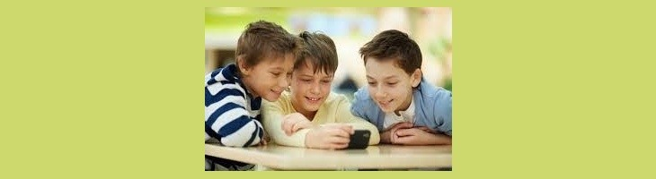 Los niños y el WhatsApp