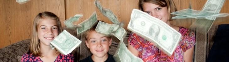 El dinero no compra la madurez