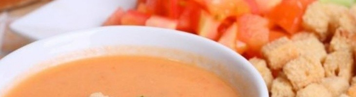 Un rico gazpacho fresco y nutritivo para tus niños
