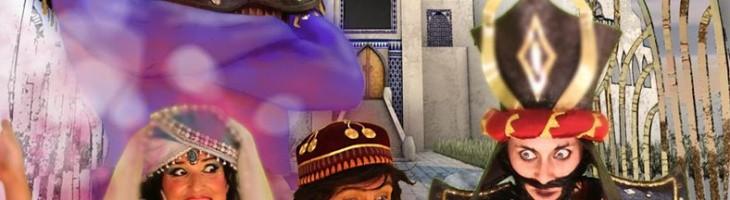 La magia de Aladino para celebrar el Nou D?Octubre en Dénia
