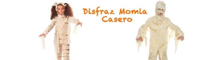 HALLOWEEN-Disfraz Momia Casero