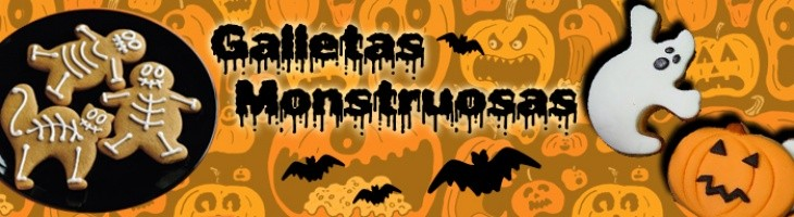 HALLOWEEN-Galletas Monstuosas
