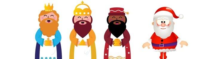 NAVIDAD-Los recortes, Papa Noel y los Reyes Magos