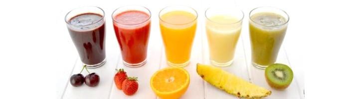 Helado de Gelatina-Zumo de frutas