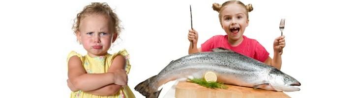 ¿Cómo introducir el pescado en la dieta de los niños?
