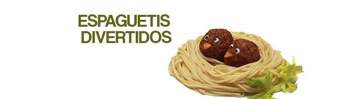 Espaguetis divertidos