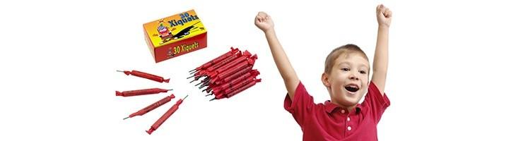 ¿A qué edad pueden los niños tirar petardos?