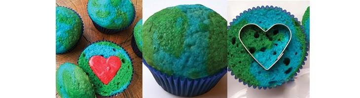 Cupcake de La Tierra