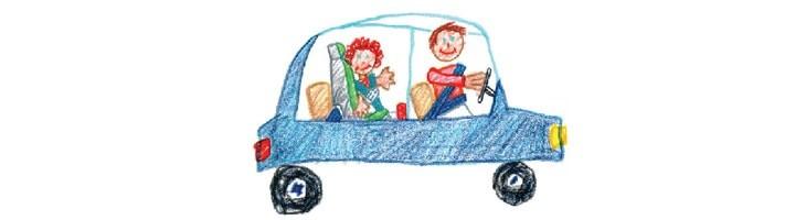 La seguridad de los niños en el coche: ¿Sabes qué es el SRI?